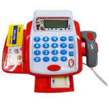 Jucarie casa de marcat pentru copii Unika Toy 250299, Rosu