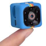 Mini Camera Spion iUni SQ11, Full HD 1080p, Audio Video, Night Vision, TV-Out, Blue