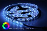 Banda Led RGB 5050 – 60led/M Interior IP20- DC 12V 14,4W/Ml , 5m/Rola