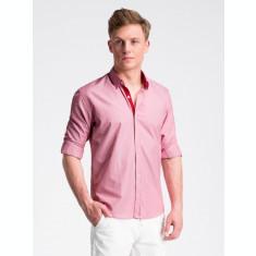 Camasa premium, casual, barbati - K472-rosu