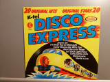 Disco Express – Selectii (1977/K-Tel/RFG)  - Vinil/ca Nou (NM+), Electrola