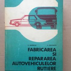 Fabricarea și repararea autovehiculelor rutiere