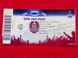 Bilet meci fotbal CFR 1907 CLUJ - BORDEAUX (Champions League 04.11.2008)