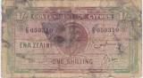 CIPRU 1 SHILLING 1942 UZAT
