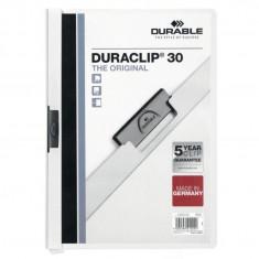 Dosar plastic Duraclip Original 30 Durable alb