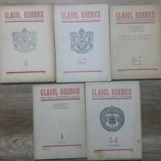 Glasul Bisericii// lot 5 volume din anii '50