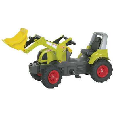 Vand TRACTOR cu pedale Rolly Toys Farmtrac, modelul Claas Arion 640 foto