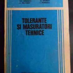 Tolerante Si Masuratori Tehnice - D. Dragu, Gh. Badescu, A. Sturzu, C. Militaru, I. ,546034