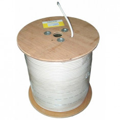 Cablu coaxial cu ecran al - tambur