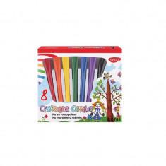 Set 8 creioane color cerate Daco
