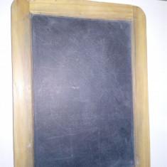 TABLA / TABLITA VECHE PENRU SCRIS CU CRETA