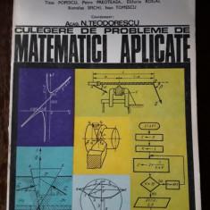 Culegere de probleme de matematici aplicate - N. Teodorescu & Co.