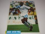Poster fotbal - jucatorul ABEDI PELE (Olympique de MARSEILLE)