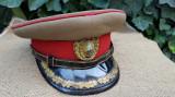 Cascheta de ofiter de infanterie din perioada RSR