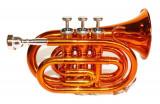 Trompeta de buzunar Cherrystone Portocaliu