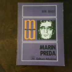 Ion Balu Marin Preda, ed. princeps