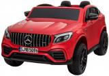Cumpara ieftin Masinuta electrica 4x4 Premier Mercedes GLC 63S Maxi, 12V, roti cauciuc EVA, scaun piele ecologica, rosu
