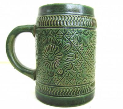 Ceramica Marzi & Remy, filigranata manual.Marcaj1964.Cana 14cm.Rar! foto