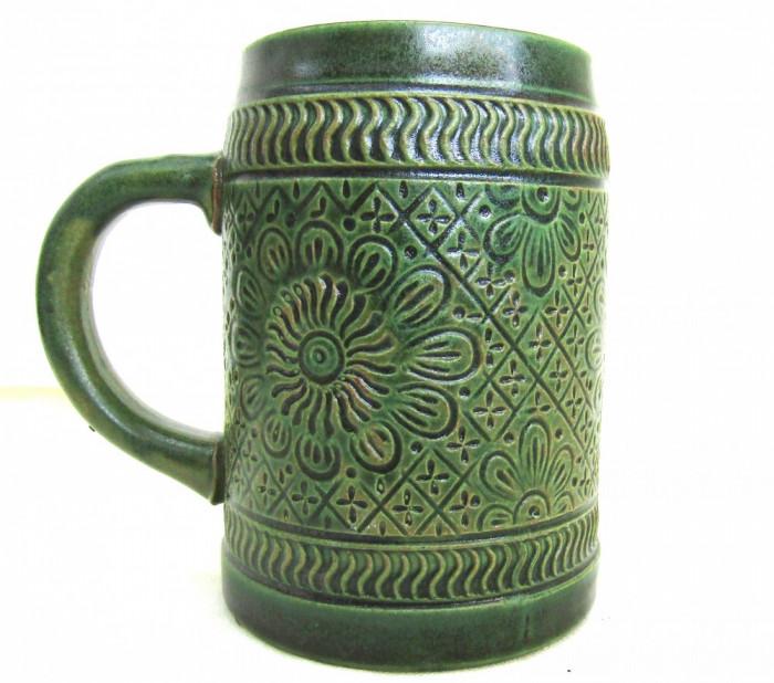 Ceramica Marzi & Remy, filigranata manual.Marcaj1964.Cana 14cm.Rar!