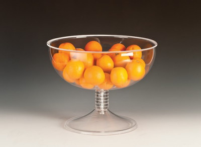 Cupa acrilica rotunda cu suport 35cm MN0136175 Raki foto