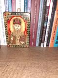 Iconita Sf Nicolae, pictata pe lemn