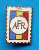 Insigna AFR Asociatia Filatelistilor din Romania