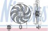 Ventilator, radiator OPEL ZAFIRA TOURER C (P12) (2011 - 2016) NISSENS 85748