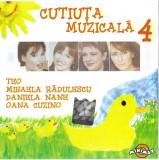 Caseta Teo / Mihaela Rădulescu / Daniela Nane / Oana Cuzino –Cutiuța Muzicală 4