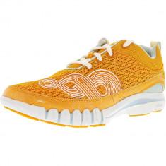 Ahnu dama Yoga Flex Orange Zest Ankle-High Cross Trainer Shoe, 38