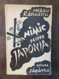 NEAGU RADULESCU - NIMIC DESPRE JAPONIA , 1946