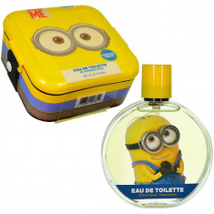 Minions EDT 100 ml, Plastic Lunch Box Set Copii, Air-Val International