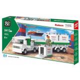 Joc constructie Blocki , Tir si containere , 343 piese , Robentoys®