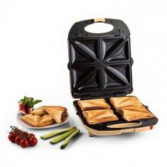 Klarstein Klarstein Trinity 3 in 1 Sandwich Maker XXL 1300 W crem