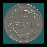 ROMANIA KM#93 - 15 Bani 1966 - Ø19.5mm - 2.8g - RSR