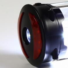 Lampa LED camping, 3 functii, alimentare baterii