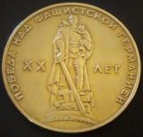 Moneda comemorativa 1 Rubla Lenin - URSS,  20 ani!  *cod 3162 B