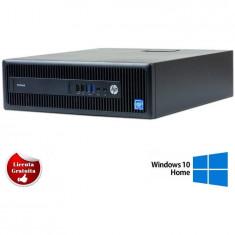 Sistem desktop HP PRODESK 600 G2 INTEL CORE I5-6500 3.20GHZ 8GB DDR4 128GB SSD SFF SOFT PREINSTALAT WINDOWS 10 PRO Refurbished