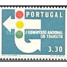 Portugalia 1965 - congres de circulatie, serie neuzata