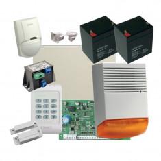Sistem de alarma DSC antiefractie cu sirena exterioara si acumulatori