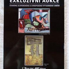 Catalog licitatie Galerie ART Praga - 27.04.2014 (stare impecabila)