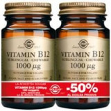 Vitamina B-12 1000mg Solgar 100tbl 1+1-50% Cod: 29865