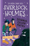 Cumpara ieftin Sherlock Holmes. Semnul celor patru, Curtea Veche