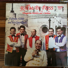 Kalman Voros and his Gipsy Band – Kalman Friss, VINIL