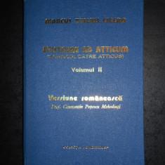MARCUS TULLIUS CICERO - EPISTOLAE AD ATTICUM / SCRISORI CATRE ATTICUS volumul 2