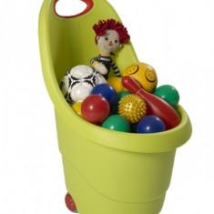 Cos jucarii cu roti Verde