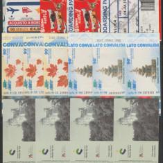 Lot 24 bilete straine moderne diverse tari si obiective