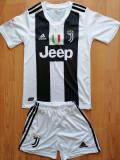 Echipament copii Juventus 12-13 ani, YXL, YXXL, Tricou + Pantalon