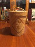 Tolbă marocană din piele de cămilă (Piesă de excepție!)