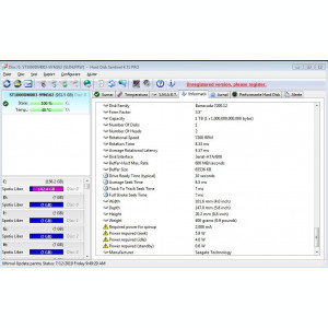 200S.HDD Hard Disk Desktop,1TB,Seagate Baracuda,64MB,Sata III,7200Rpm