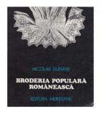 Broderia populara romaneasca